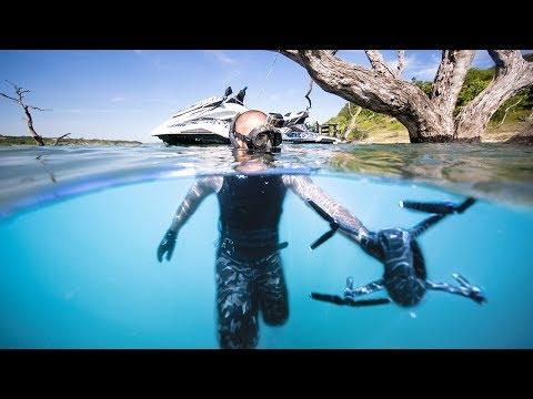 Found Best Friends LOST Drone Underwater!! (Surprised him with NEW Drone!!)| Jiggin' With Jordan
