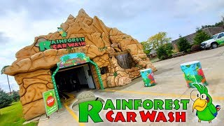 MOST AWESOME CAR WASH EVER ! RAINFOREST CAR WASH in BRUNSWICK OHIO