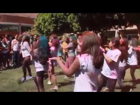 ISA-ASU Holi  Flash Mob 2015