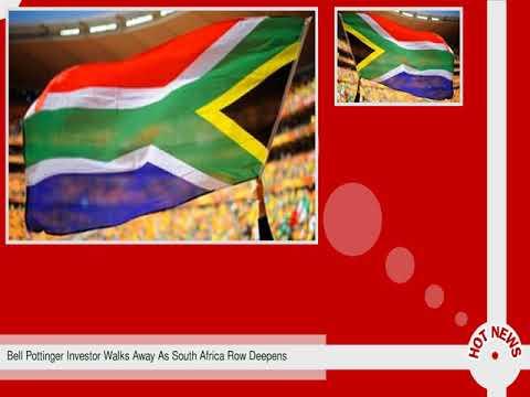 Bell Pottinger Investor Walks Away As South Africa Row Deepens