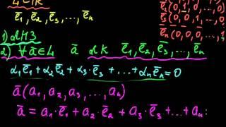 §45 Базис линейного пространства