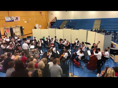 North Myrtle Beach Middle School Orchestra Concert part 1