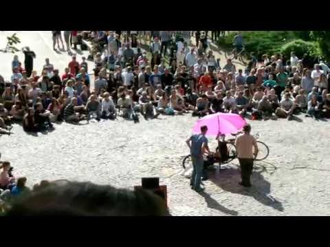 28.06.2015 | Berlin | Mauerpark | Karaoke | Guy from Norway (Oslo)
