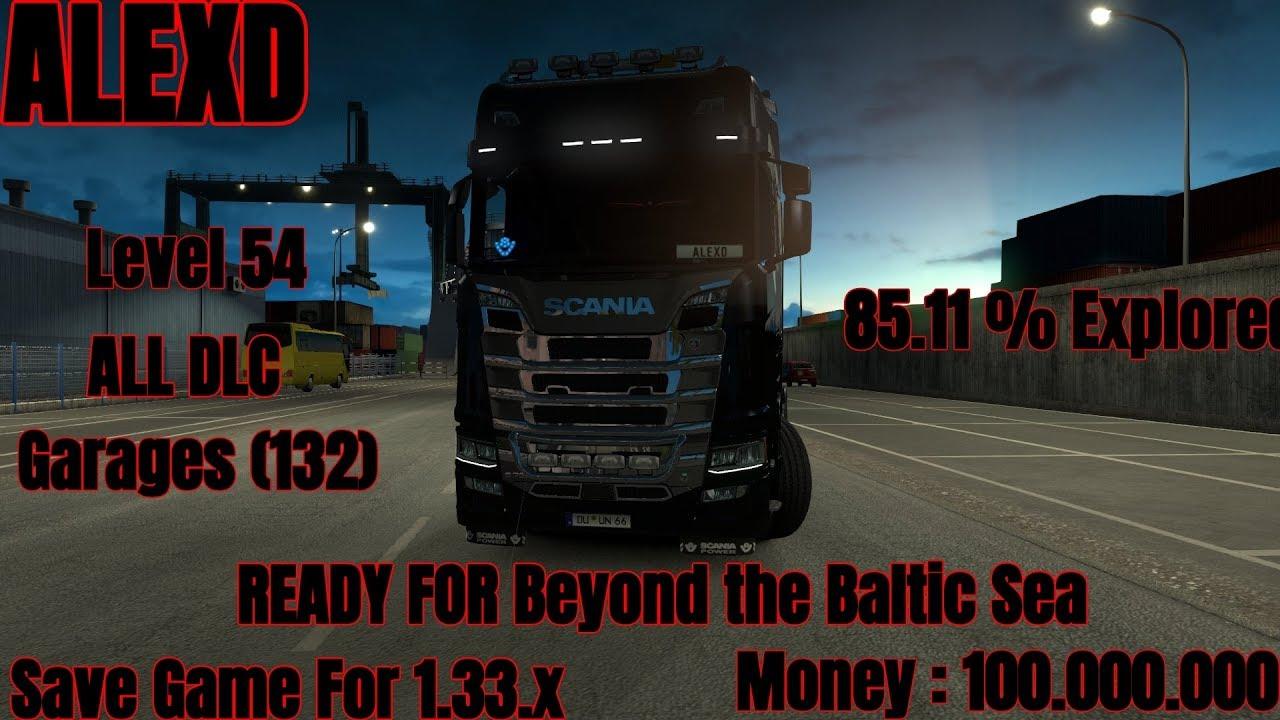 Euro truck simulator 2 beyond the baltic sea crack fix