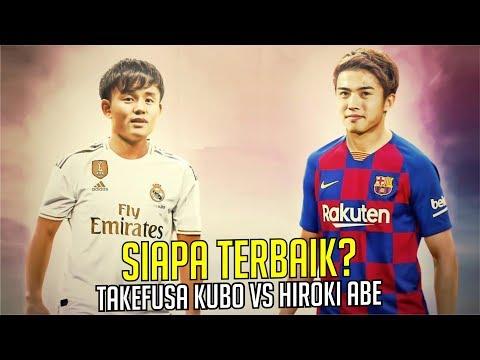 Hiroki Abe Vs Takefusa Kubo, Siapa Lebih Baik?