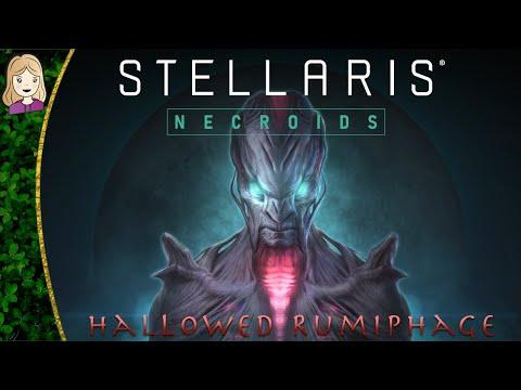 NECROIDS! | Hallowed Rumiphage 0 | Stellaris: Necroids | 2.8 Butler |