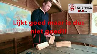 BBhoutcv mijn houtvergasser rookt, vocht meten in brandhout