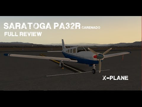 X-Plane 10: Piper Saratoga Full review