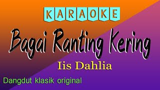 KARAOKE BAGAI RANTING KERING - IIS DAHLIA