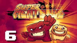 Super Meat Boy | Let's Play Ep. 6: Good Games are Hard | Super Beard Bros.