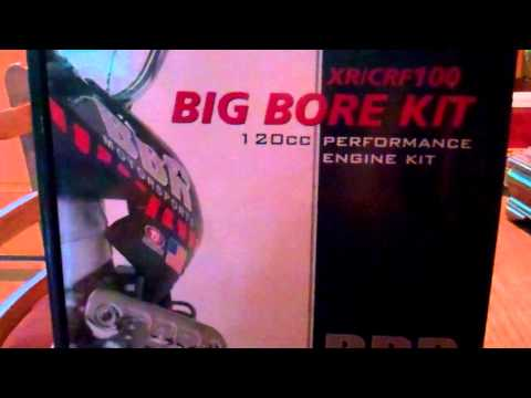 BBR xr/crf100 120cc big bore kit - Review
