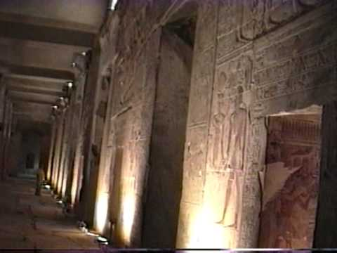 Abydos Temple in Egypt