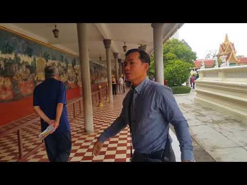 The Royal Palace,PhnomPenh, Cambodia ,Nov 8.2017