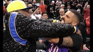 E-40 Chokes Drake At Raptors Warriors NBA Finals Game 1