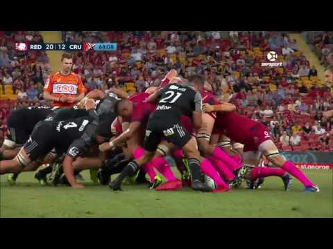 2017 Super Rugby Round 3: Reds v Crusaders