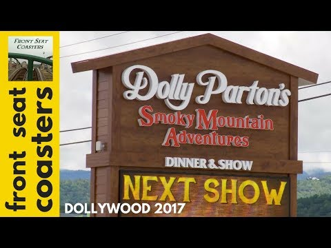 Dollywood Dolly Parton's Smoky Mountain Adventures Newest Dinner Attraction In Pigeon Forge TN!
