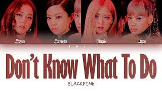 Baixar BLACKPINK (블랙핑크) - Don't Know What To Do (Han|Rom|Eng) Color Coded Lyrics/한국어 가사