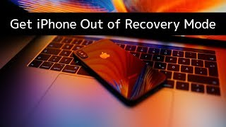 How to get iPhone or iPad out of Recovery Mode