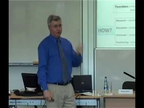 Professor Gerard Quinn, NUI Galway, speaking at the ISSP Summer School 2009