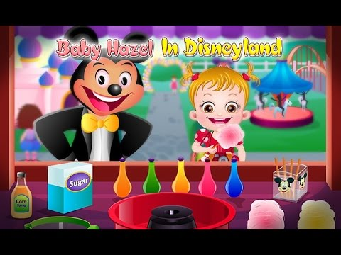 HD Baby Hazel in Disneyland with Mickey & Minnie in English 2014
