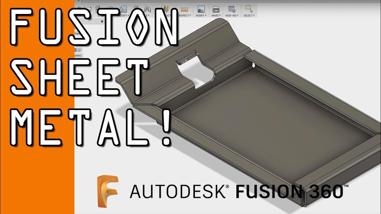 Getting Started with Fusion 360 Sheet Metal - NYC CNC