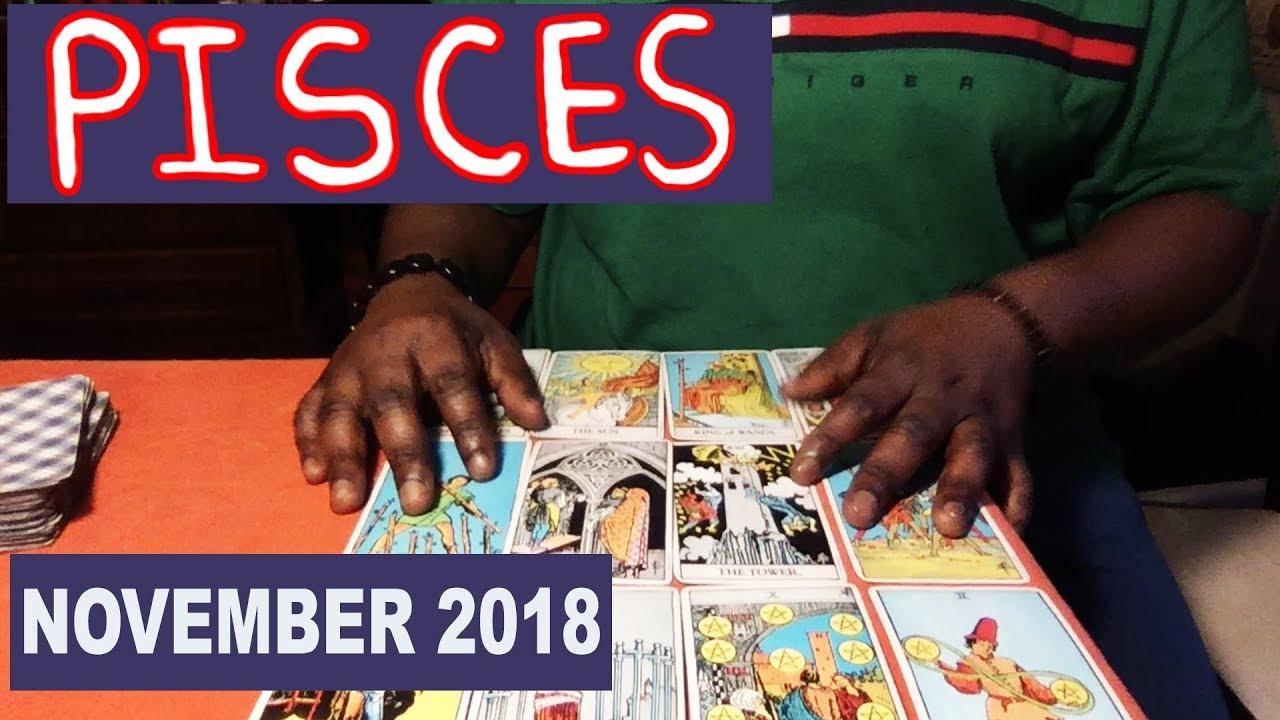 PISCES NOVEMBER 2018 Horoscope Psychic Tarot Reading