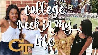 COLLEGE WEEK IN MY LIFE | GEORGIA TECH
