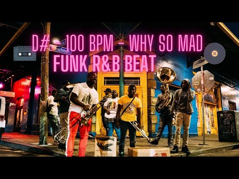FREE FUNK RNB TYPE BEAT - WHY SO MAD - Eb m - D# m - 100 BPM 🎹🎧 Extended Mix
