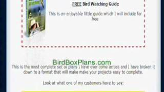 Bird Box Plans: How To Make A Bird Box 123