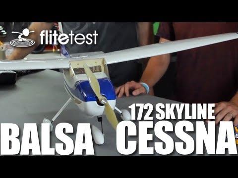 Flite Test - Balsa Cessna - REVIEW