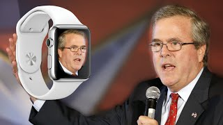 Jeb Bush To Replace Obamacare With Apple Watches - Yes, Really