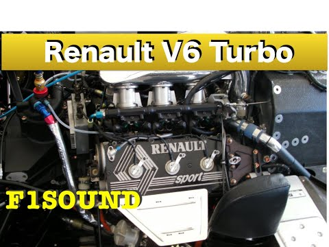 "F1 Renault Turbo sound  ""JPS Lotus Renault  Legends of A.senna  ""Engine warming-up"