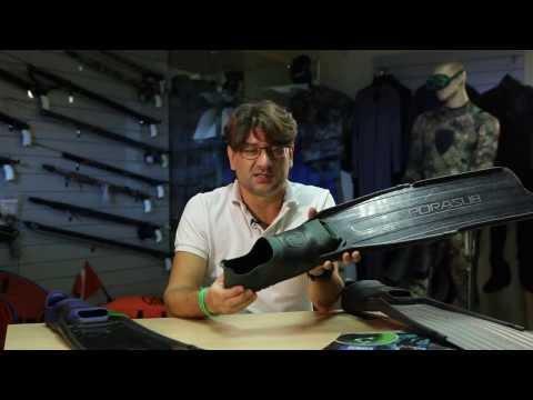 Ласты для подводной охоты OMER Stingray Winter Sporasab Spitfire Black Sporasub Spitfire Lady