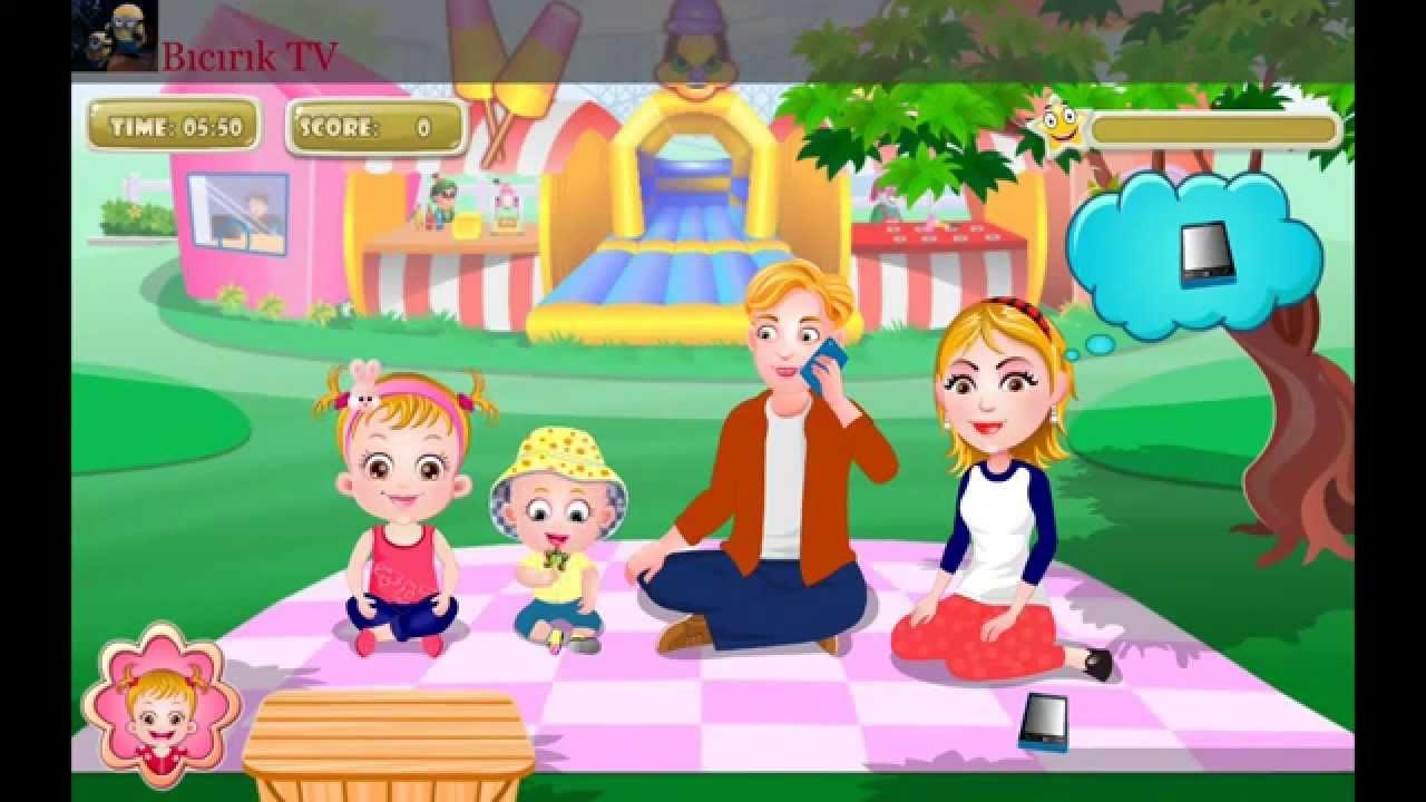 Hazel family barbie picnic baby piknikte hazel bebek ailesiyle