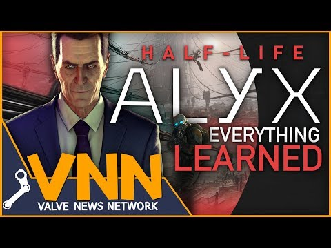 Everything Learned from Half-Life Alyx's Reveal