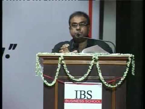 IBS Kolkata   N J Yasaswy Commemoration lecture 2014 By Prof