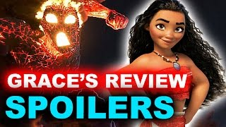 Moana SPOILERS Movie Review