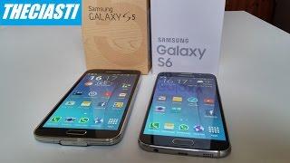 Samsung Galaxy S6 contro S5 il confronto (ITA)