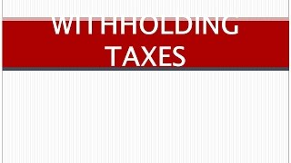 Orientation on Taxes by the Bureau of Internal Revenue