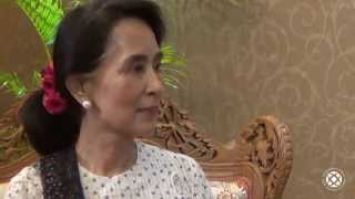 Interview with Aung San Suu Kyi, Nobel Prize winner