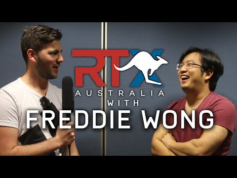 FREDDIE WONG INTERVIEW AT RTX AUSTRALIA!