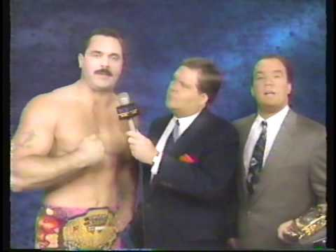 Rick Rude & Paul E. Dangerously (Paul Heyman) Interview (1991-12-08)