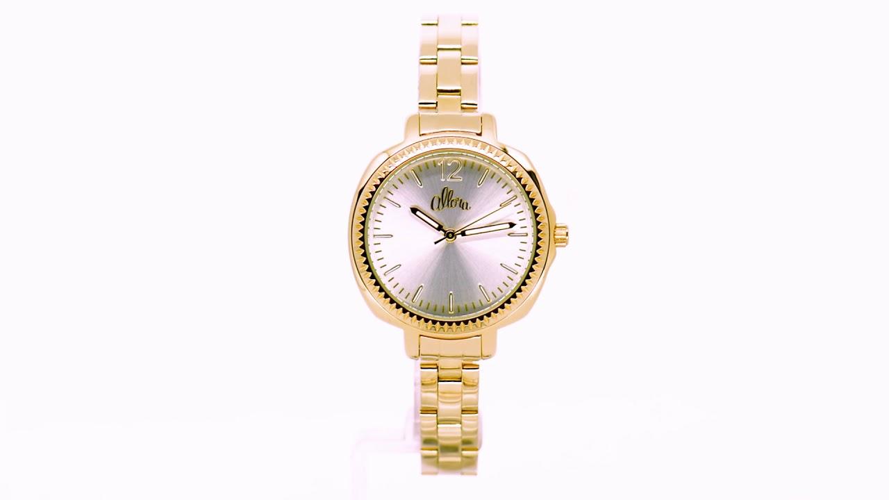Kit Relógio Allora Feminino com Colar e Brincos AL2035EZM K4K - Eclock 6a0ffc5024