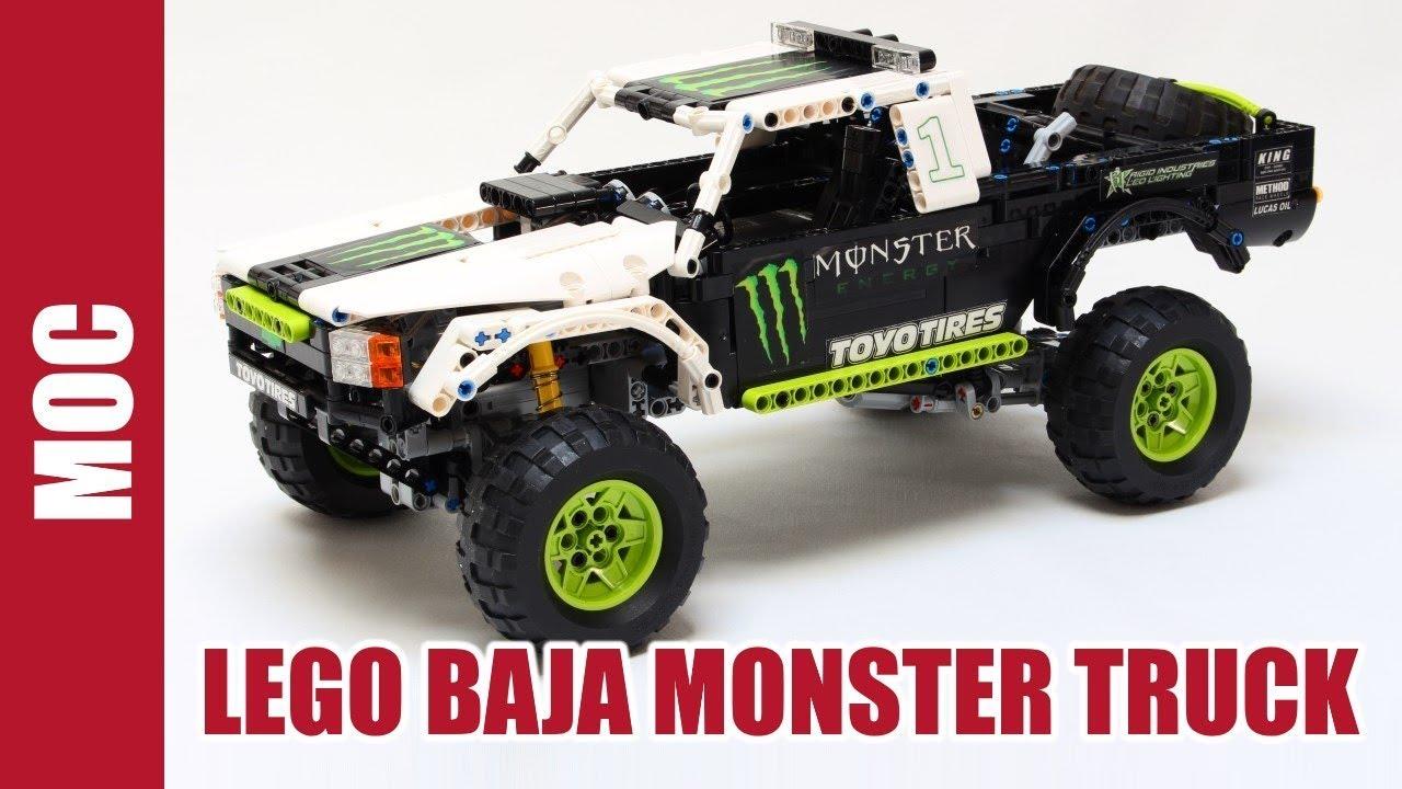 Lego Technic Monster Energy Ballistic B J Baldwin Recoil
