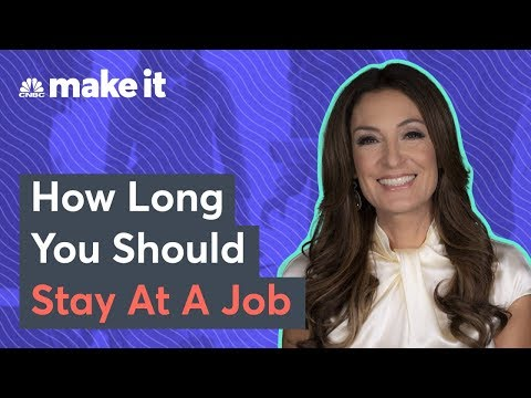 Suzy Welch: Here's When To Change Your Job