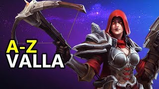 ♥ A - Z Valla -  Heroes of the Storm (HotS Gameplay)
