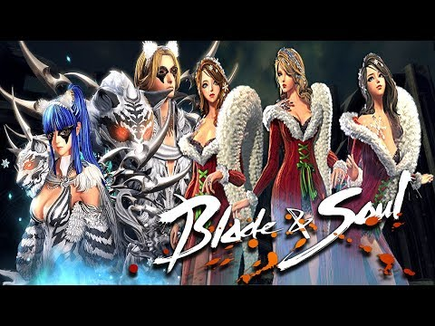 Blade And Soul (CN) - New White Tiger vs Christmas Fashion Update Video Show