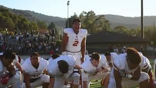 Haka before Mitty, Menlo Atherton Varsity Football 2018 08 31
