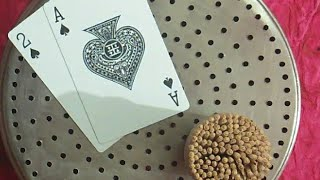 CHALNI mein KATORI mein toothpick with twist of cards n pionts/Fun games for all parties
