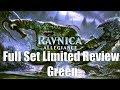 Ravnica Allegiance Full Set Limited Review: Green